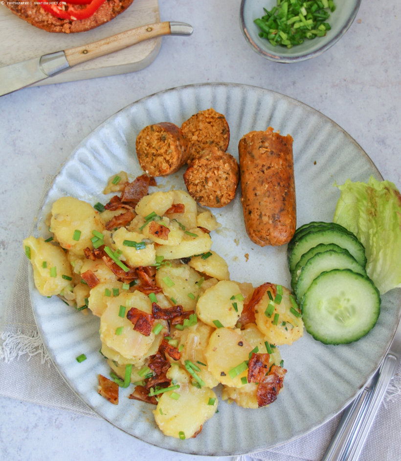 Vegane Brotzeit & oberleckerer Kartoffelsalat