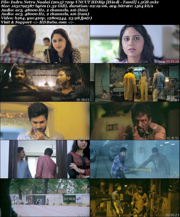 Indru Netru Naalai Hindi Dual Audio Full Movie Download, Time Machine 2017 Hindi Dubbed Tamil Full HD MKV MP4 Movie, Indru Netru Naalai Hindi Dual UnCut 720p 480p HDRip 1gb 450mb