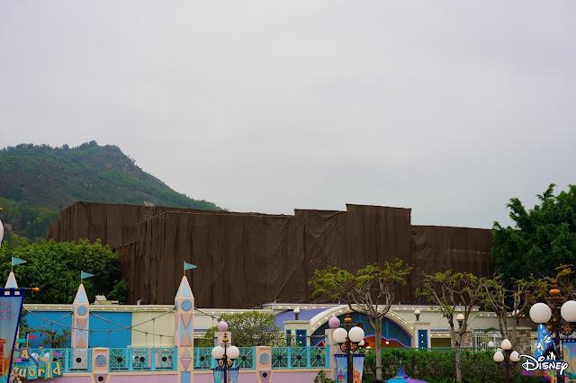 HKDL粉飾工程記錄2021年3月上旬號,  Hong-Kong-Disneyland- Refurbishment-Updates-Early-March-2021