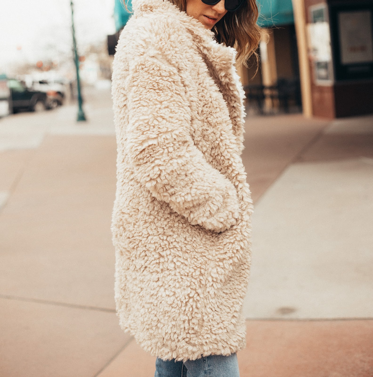 The Best Teddy Bear Coats Under $100 by Colorado fashion blogger Eat Pray Wear Love