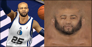 NBA 2K13 Vince Carter Cyber Face Mods