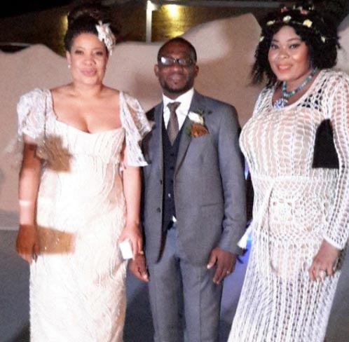 More photos from Monalisa Chinda's white wedding in Greece