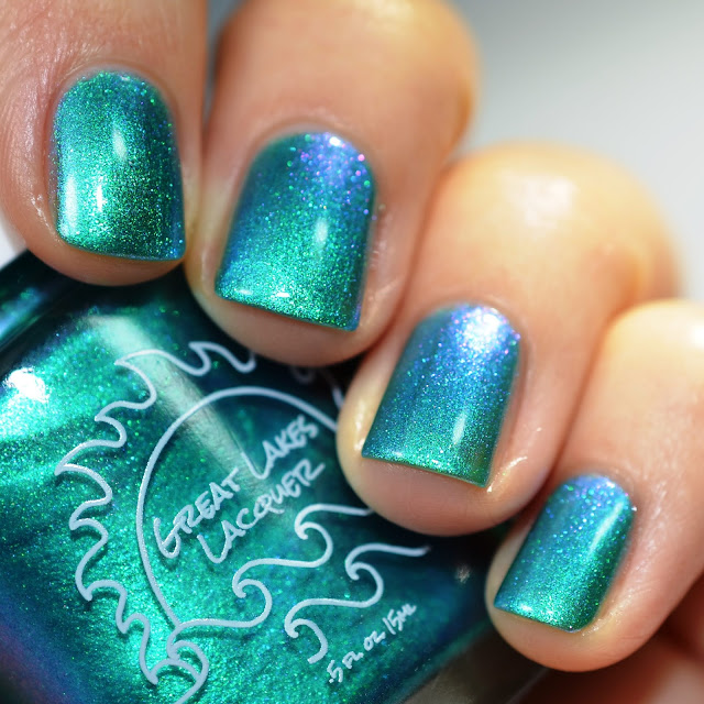 Great Lakes Lacquer Can't Knock Me Down HHC swatch