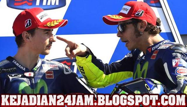 Hubungan Valentino Rossi Dan Lorenzo Kini Telah Berubah