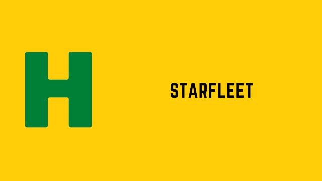 HackerRank Starfleet problem solution