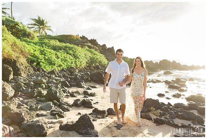 Maui Couples Beach Portrait