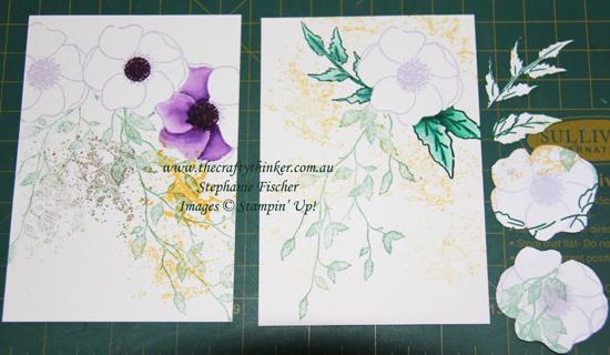 #thecraftythinker #stampinup #cardmaking #paintedpoppies #inkitstampit #veryversailles , Painted Poppies, Very Versailles, Ink it! Stamp it! Blog Hop, Thank you card, Stampin' Up Demonstrator, Stephanie Fischer, Sydney NSW