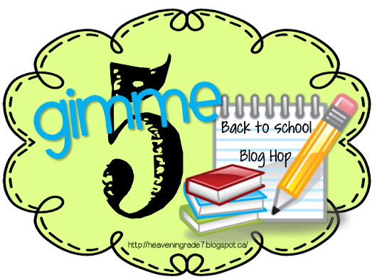 GIMME FIVE BLOG HOP!!!