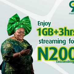 How To Activate 9mobile 1GB + 3 Hours Streaming For 200 Naira