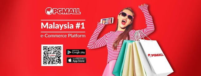 PG Mall platform e-commerce no.1 Malaysia