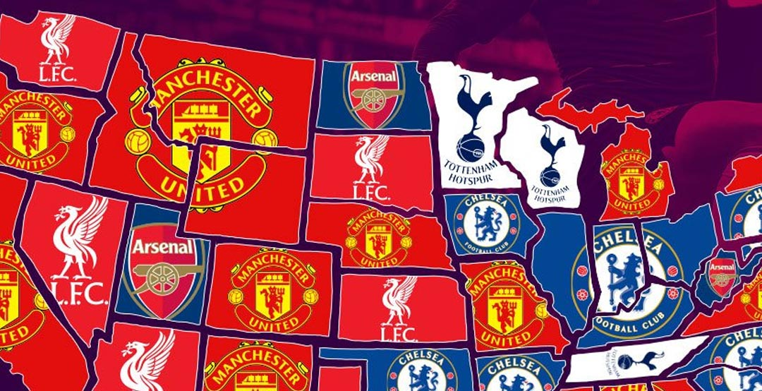 Man City Most Popular In One State Only - Here Is Which ...