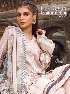 Shree Fab Firdous Premium collection 2 Pakistani Suits