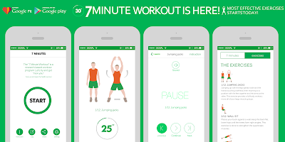 7 Minute Workout Android செயலி