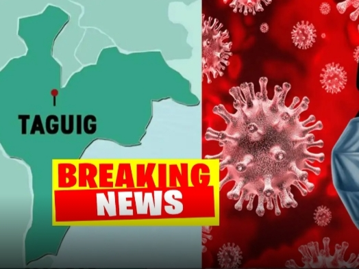 COVID UPDATE: First Corona Virus Infected, Naitala sa Taguig City