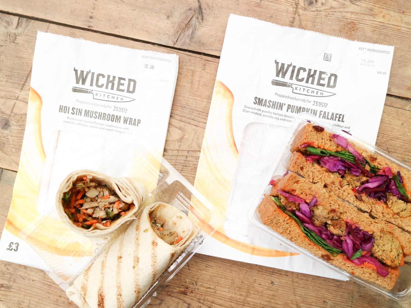 wicked kitchen plant based food range at tesco - Wicked Kitchen