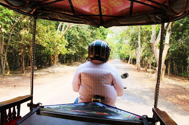 Tuk-tuk in Siem Reap, Cambodia - Asia travel blog