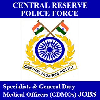 Central Reserve Police Force, CRPF, Force, MO, Specialist, Medical Officer, Graduation, freejobalert, Sarkari Naukri, Latest Jobs, crpf logo