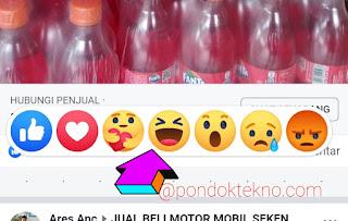 2 Cara Memberikan Komentar Emoticon di Postingan Teman Facebook