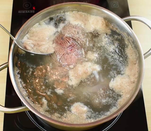 foam protein from meat