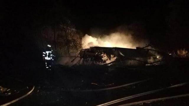 Ukraine military plane crash