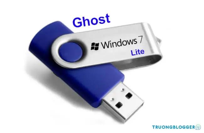 Ghost Windows 7 Lite (32 + 64Bit) siêu nhẹ dành cho máy cấu hình yếu