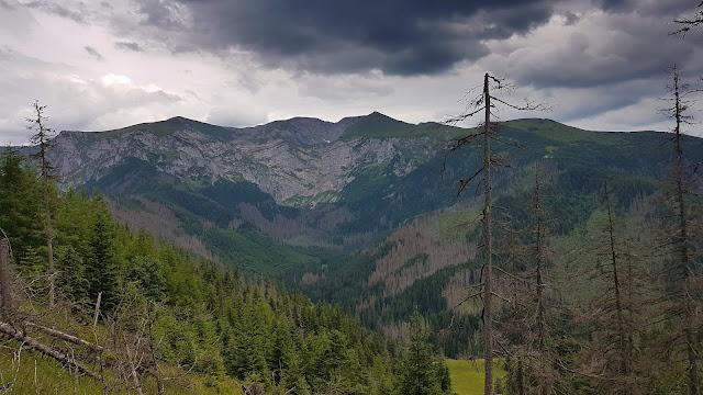 Szlak Staników Żlebem na końcu oferuje całkiem fajne widoki
