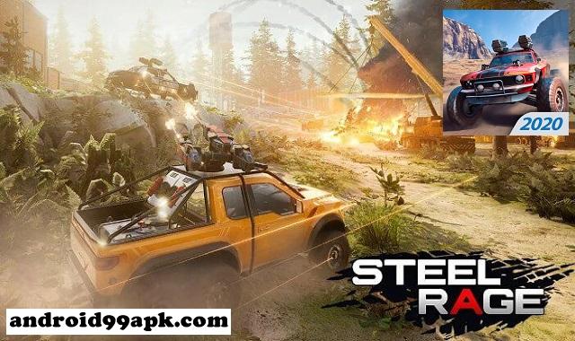 لعبة Steel Rage v0.159 مهكرة  كاملة بحجم 131 ميجابايت للأندرويد