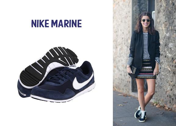 nike bleu marine