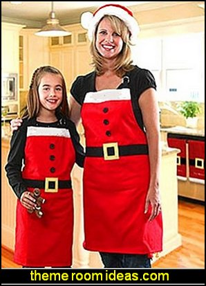 Christmas Apron Party Dress