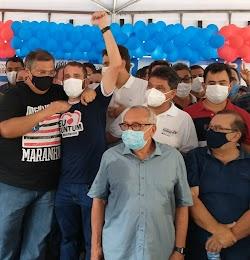 Governador Flávio Dino anuncia construção de hospital municipal e restaurante popular em Tuntum