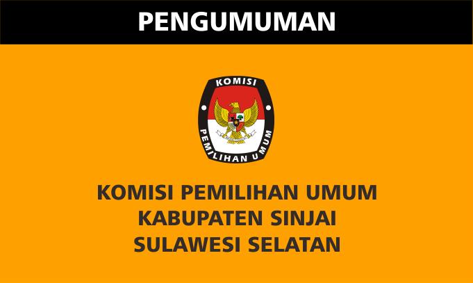 KPU Sinjai Umumkan Syarat Dukungan Bakal Calon Perseorangan
