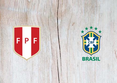 Peru vs Brazil -Highlights 14 October 2020
