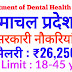 Department of Dental Health Services, Himachal Pradesh Recruitment