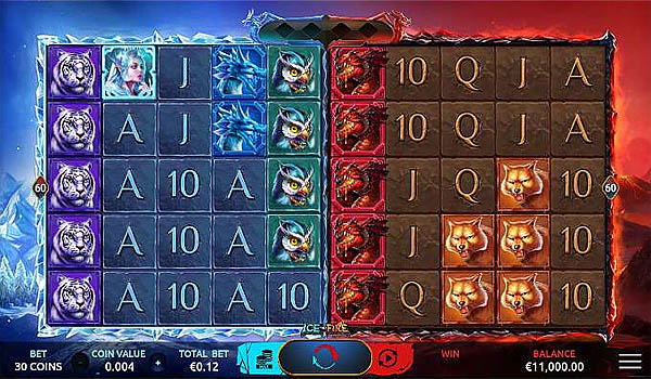 Main Gratis Slot Indonesia - Ice and Fire (Yggdrasil)