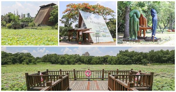 台中東勢|東勢林業文化園區|全台最大荷花池|木雕作品展|免費入園