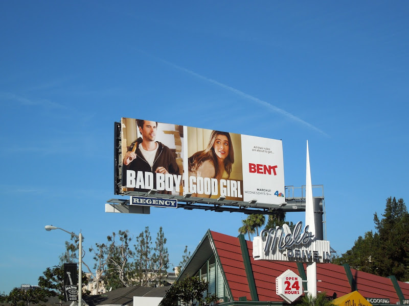 Bent NBC billboard