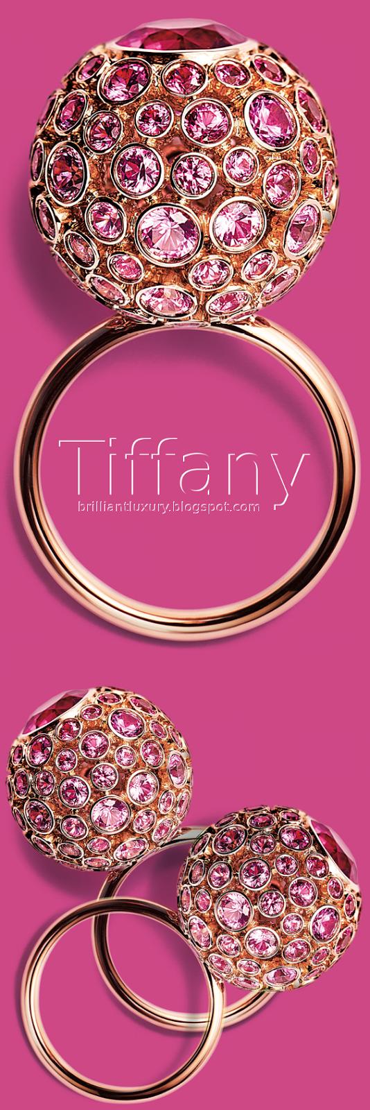Brilliant Luxury ♦ Tiffany prison orb ring