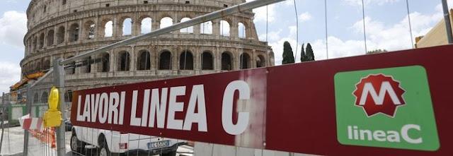 Metro C a Roma, al Colosseo ecco l'atrio stazione