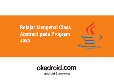 contoh program abstract class abstraksi pada java