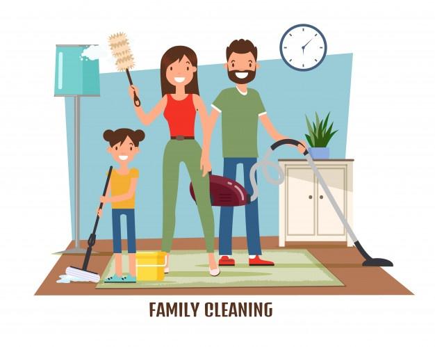 Membantu Mengerjakan Pekerjaan Rumah, Ternyata Ada Manfaatnya Untuk Anak