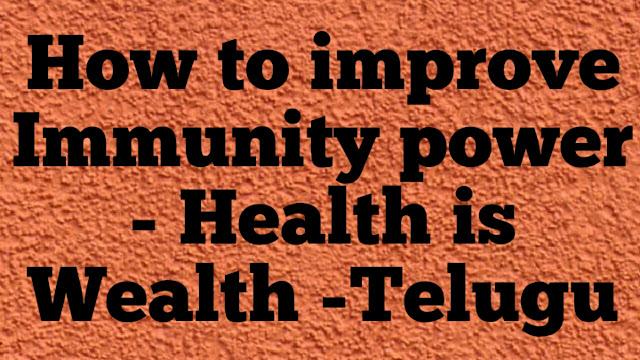 Best Tips for improving Immunity Power