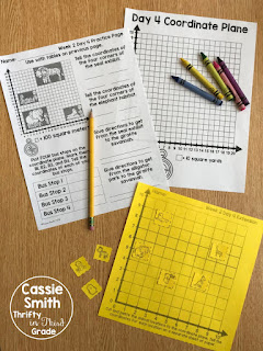 Practice page and center activity