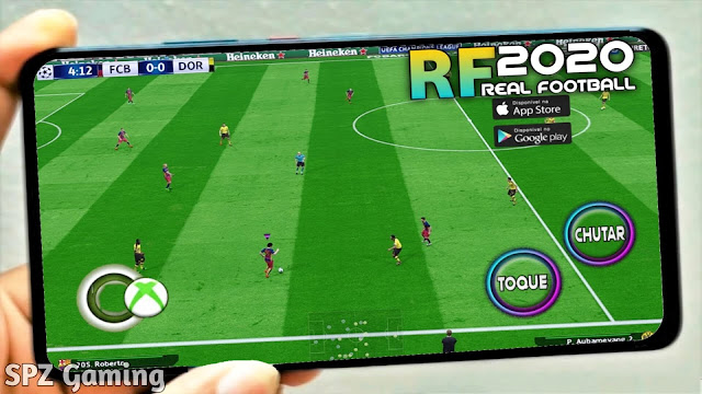 Real Football 2020 Android Offline 500 MB HD Graphics