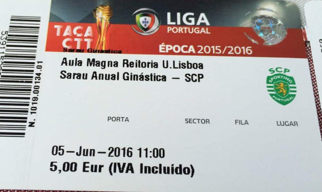 4e372d4cba Precisam mesmo de usar os restos de bilhetes de uma competição ganha pelo  Benfica
