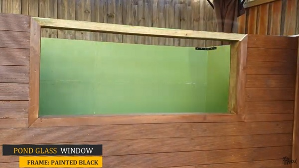 Painting the Exterior of DIY Patio Pond