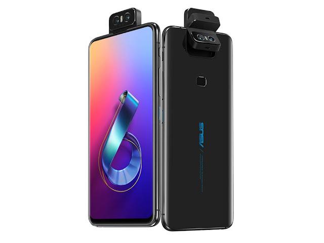 ASUS Zenfone 6 - flipping camera