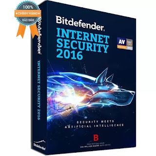 Bitdefender Internet Security 2017 - 1PC/Năm