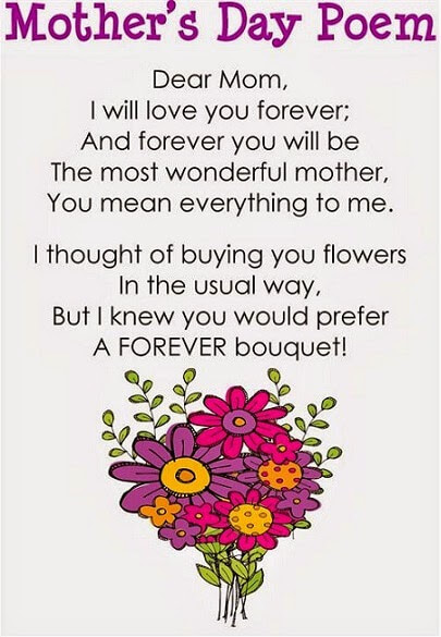 photo regarding Free Printable Mothers Day Poems identify Delighted Moms Working day 2016 - Estimates, Messages, Photos, Poems, Presents