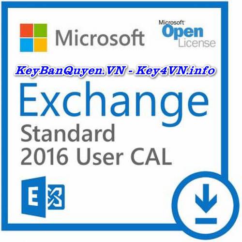 Key Bản Quyền Exchange Server 2016 Standard Uy Tín Giá Rẻ.