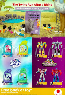 My Little Pony 2021 McDonald's Happy Meal Toys